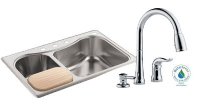 New and like new kitchen faucets, sinks, garbage disposals, and much more.